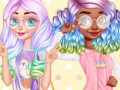 Игры Princesses Kawaii Looks and Manicure